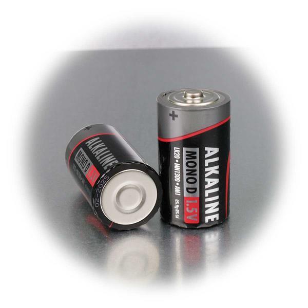 Alkaline-Batterie mit 1,5V Spannung für einer Vielzahl von Geräten
