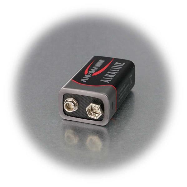 Alkaline-Batterie mit 9V Spannung mit langer Ausdauer