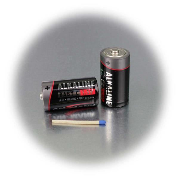 Baby Batterie C/LR14 mit 0% Kadmium und 0% Quecksilber