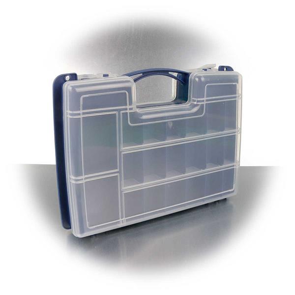 Kunststoff-Koffer für Hobbybereich oder Werkstatt, für Kleinteile