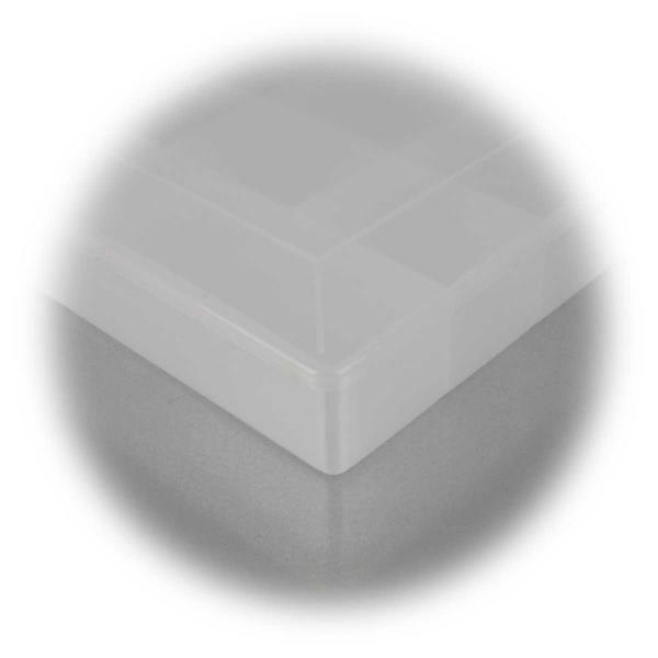 transparente Kunststoffbox für Hobbybereich oder Werkstatt