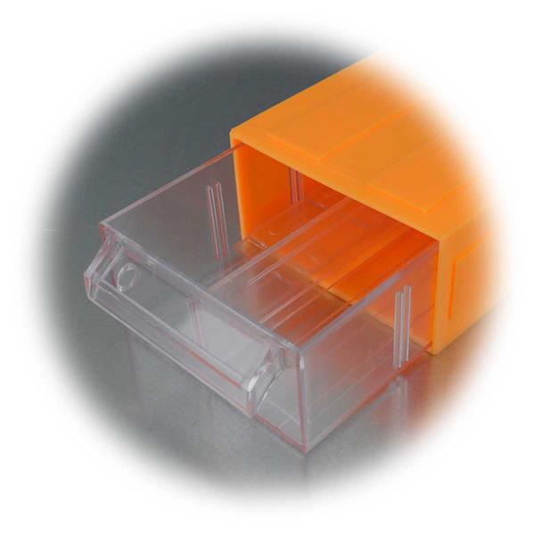 Kunststoffbox für Hobbybereich oder Werkstatt, für Kleinteile