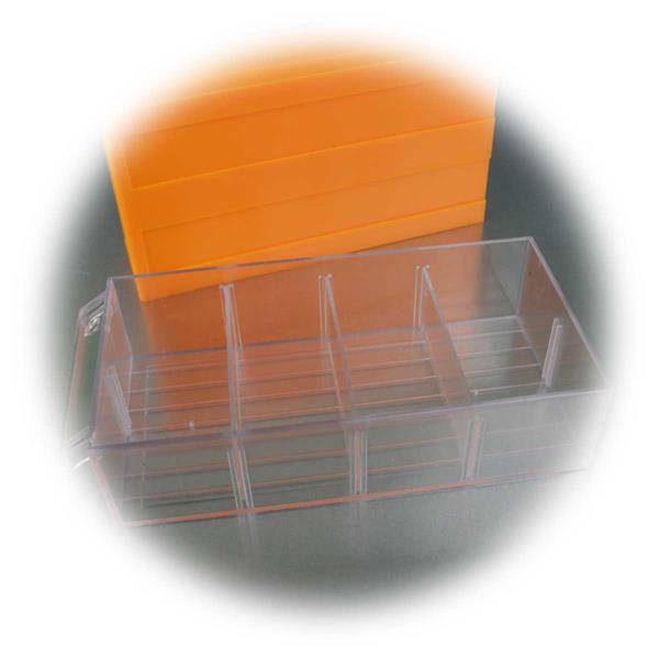 Kleinteile-Schublade mit 4 Sortierfächern für verschiedene Utensilien