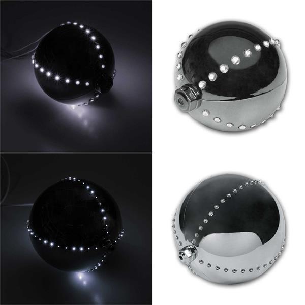 Dekoleuchte mit verschiedenen Lichtspielen mit 44 oder 76 LEDs