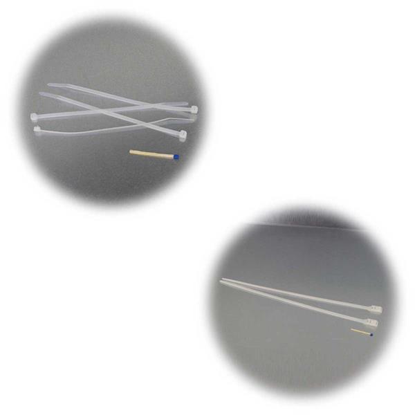 Mehrzweck Kabelbinder in verschiedenen Größen für Hobby und Beruf