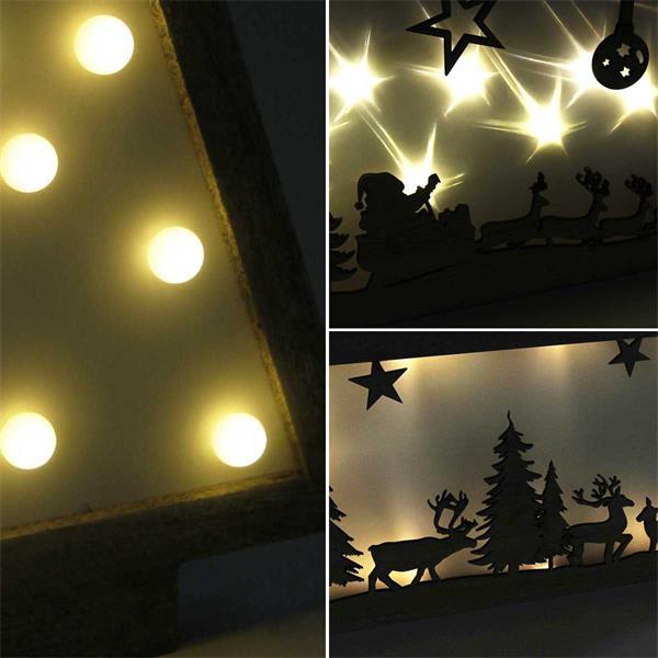 LED Weihnachtslichter mit warmweißem, stimmungsvollem Lichtschein