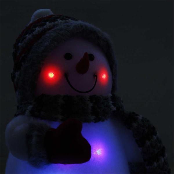 Weihnachtsfiguren mit Farbwechsel LED, Batteriebetrieb