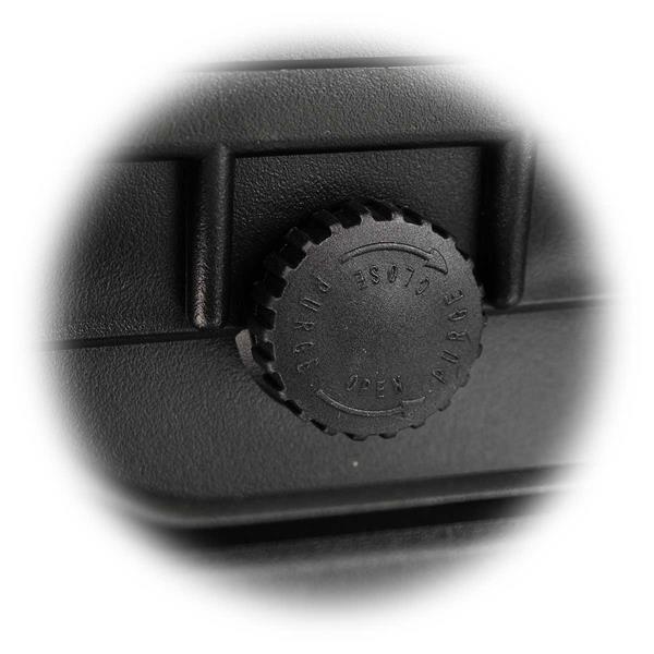 Gerätekoffer mit Ventil für Druckausgleich