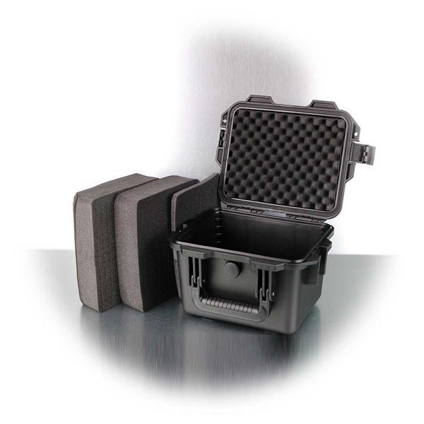 Geräte-Transportkoffer mit 4 Schaumstoff-Schichten