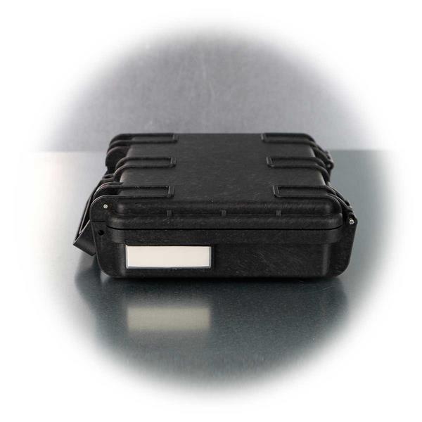 Kompakter und wasserdichter Gerätekoffer mit Beschriftungsfeld