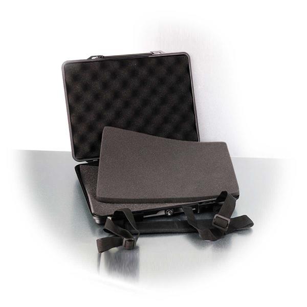Universal-Gerätekoffer mit Tragegurt und Innenpolsterung