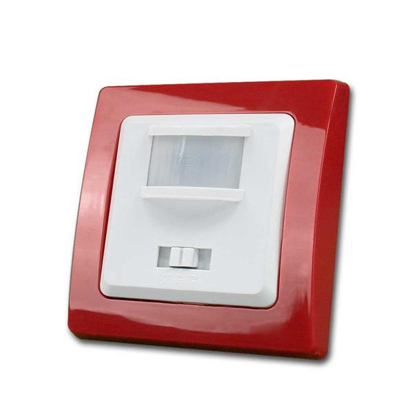 DELPHI Bewegungsmelder, rot/weiß, 240V~/500W, UP