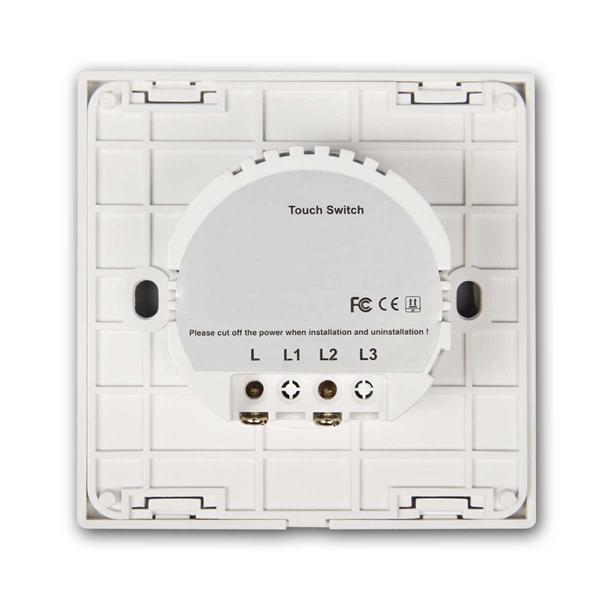 Funkwechselschalter bestehend aus 2 FLAIR-Touchschaltern