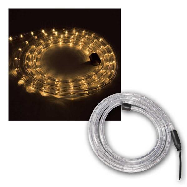 10m LED-Lichtschlauch, warmweiß, 3000K,  IP44