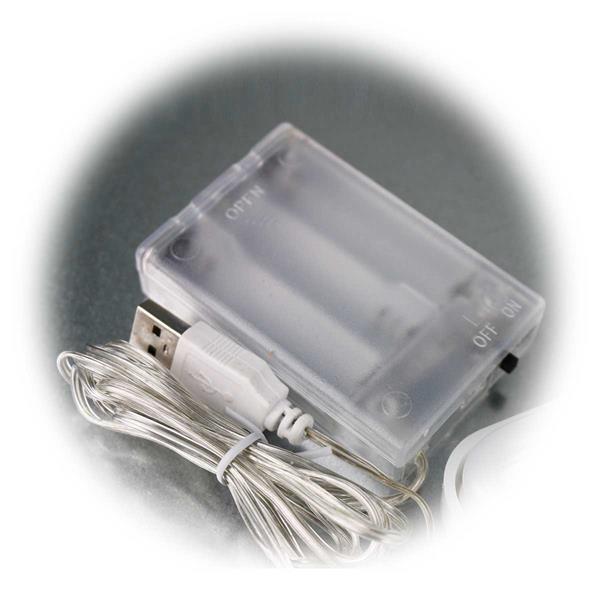 Batteriebetriebener LED-Stern im Retrostyle