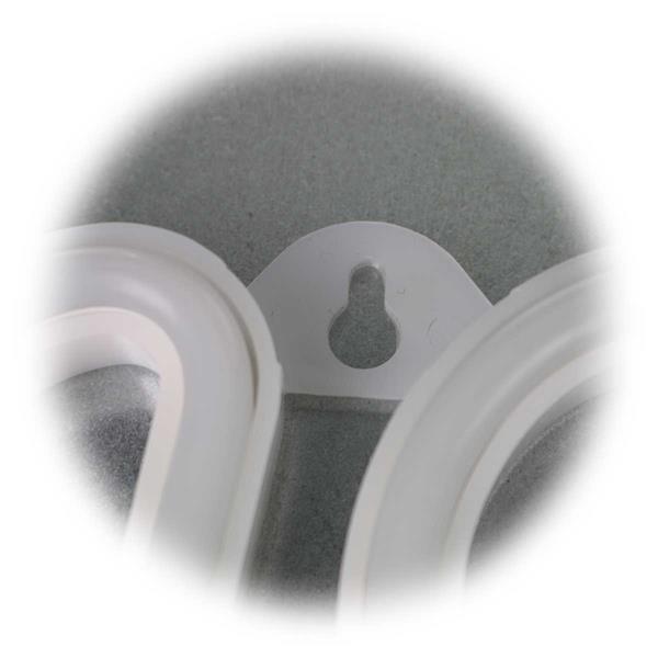 Retro LED-Schriftzug HOME mit Batteriebetrieb und USB-Stecker