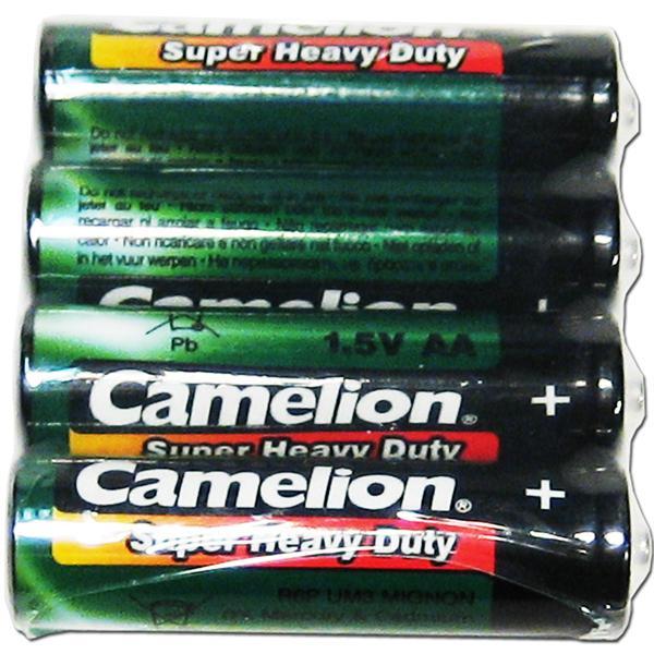 4er Set Mignon-Batterien CAMELION HeavyDuty Typ AA