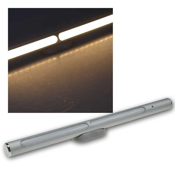 LED Akku-Leuchte Magnethalter, LxØ30x2cm, 2W, warmweiß
