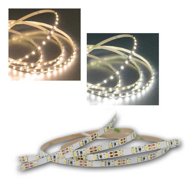 5m SMD Stripe 600 LEDs, 4mm Breite, warm/daylight