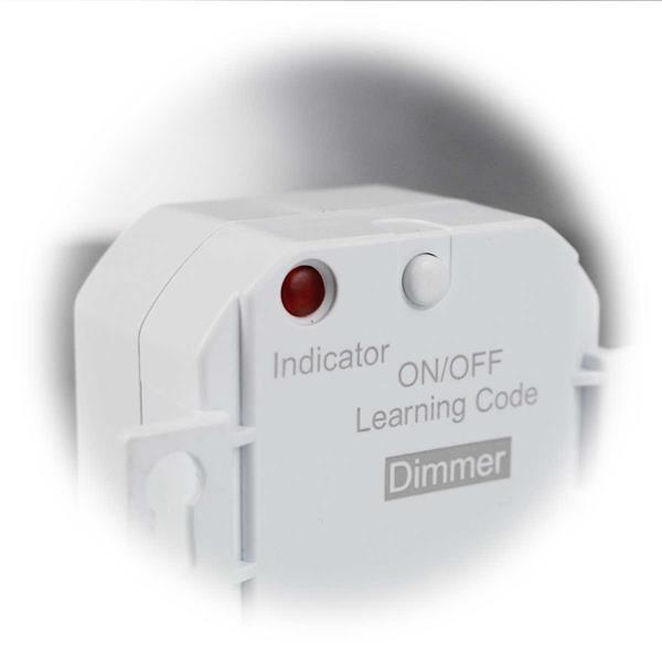 kleiner Funk-Empfänger mit Memoryfunktion und LED Funktionsanzeige