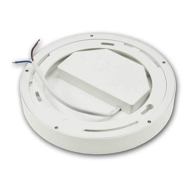 LED Wohnraumleuchte für Anschluss an 230V, einfache Installation