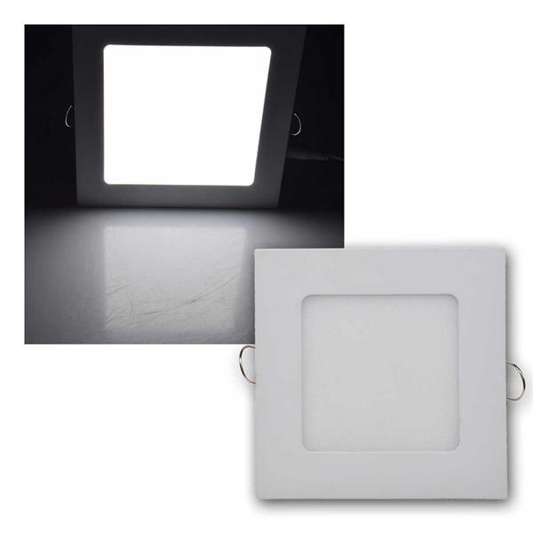 LED Licht-Panel QCP-12Q 12x12cm 6W 440lm daylight