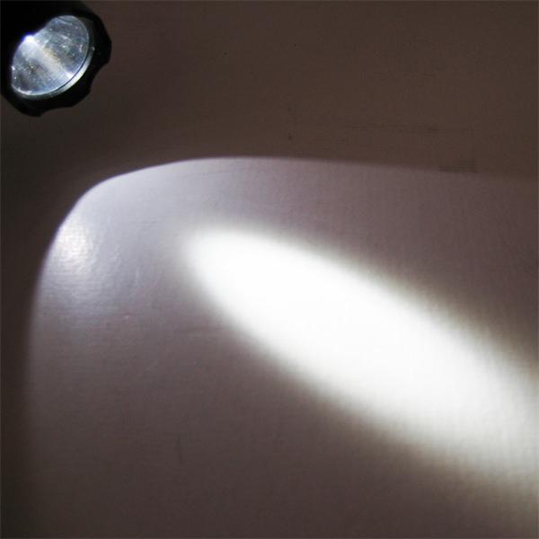 5W HighPower LED-Taschenlampe mit 170lm Lichtstrom