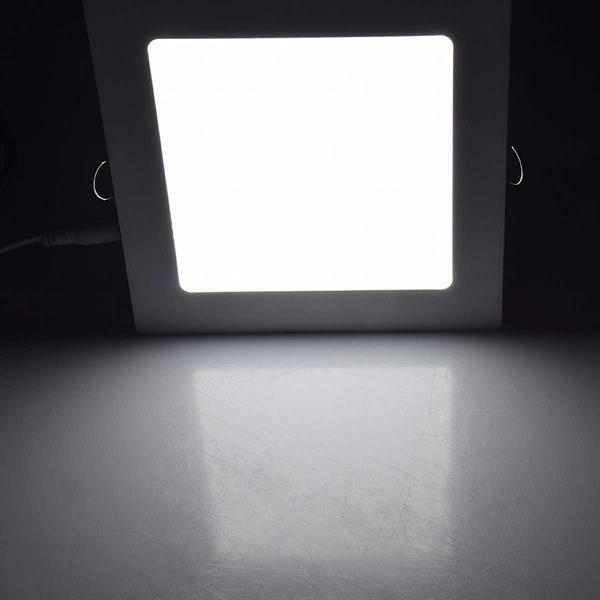 Tageslichtweiß-leuchtendes Slim-Panel