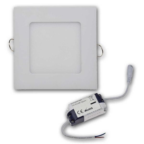Das LED-Panel wird zusammen mit LED-Trafo geliefert