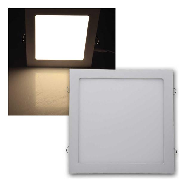 LED Licht-Panel QCP-30Q 30x30cm 24W 1680lm warmwei