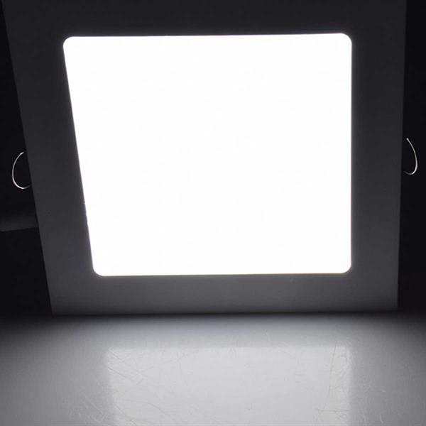 Neutralweiß-leuchtendes LED-Panel mit milchiger Abdeckung