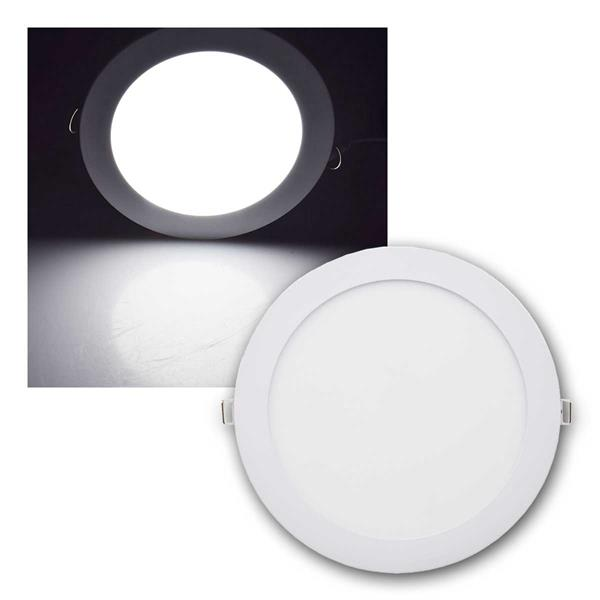 LED Licht-Panel QCP-22R Ø22cm 18W 1340lm daylight