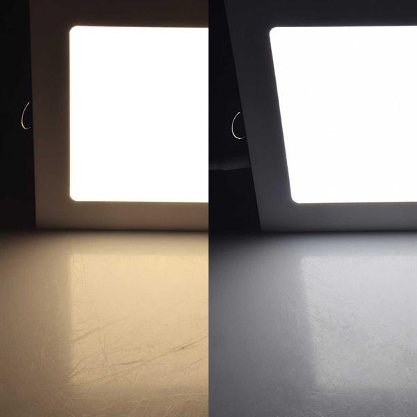 Flaches LED-Panel in 2 Lichtfarben und 4 Größen