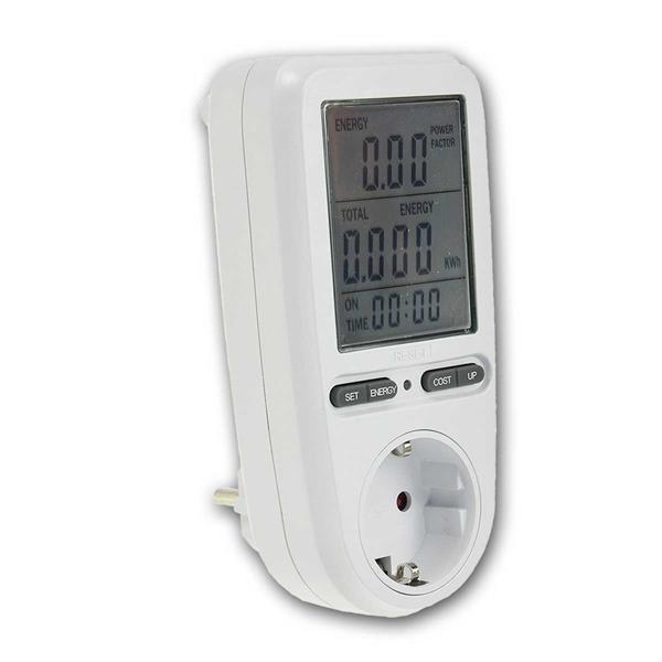 Energiekosten-Messgerät CTM-808 Pro max. 3680W