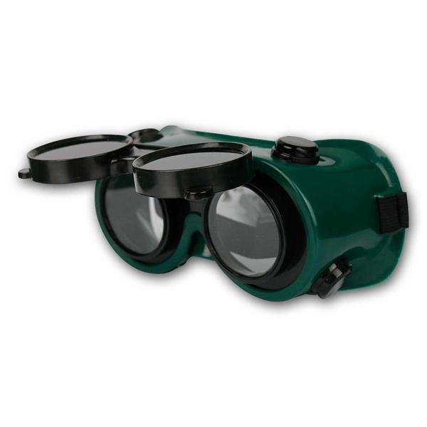 Doppel-Schutzbrille, Arbeitsbrille/Schweißerbrille