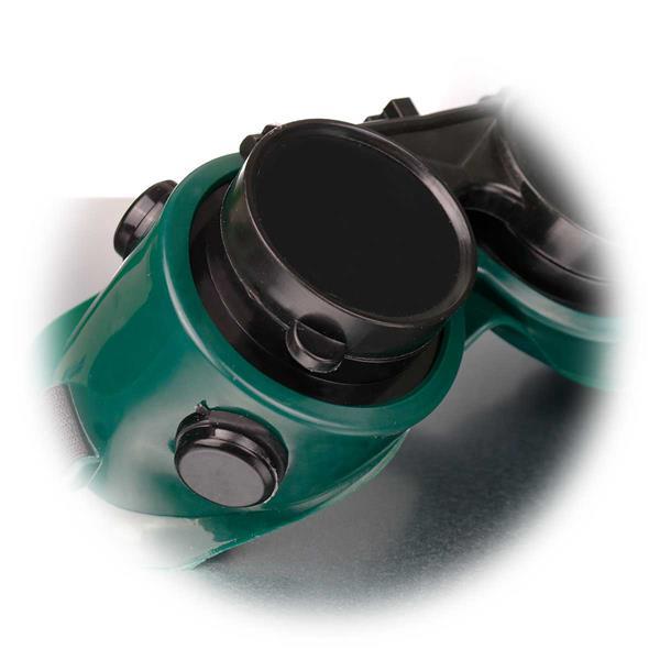 Schutzausrüstung für Schweißarbeiten, auch für Brillenträger