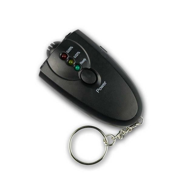 Alkoholtester, analoge Anzeige, Schlüsselanhänger