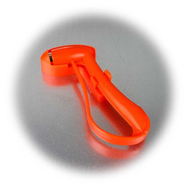 Fluoreszierender Notfallhammer inkl.Halterung