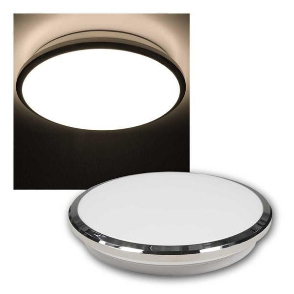 LED Deckenleuchte Sunny Ø28cm, 230V/12W, 960lm, warmweiß