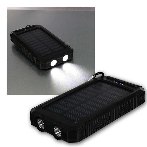 Powerbank Outdoor 8.000 mAh 2x USB LiIon-Akku IP45