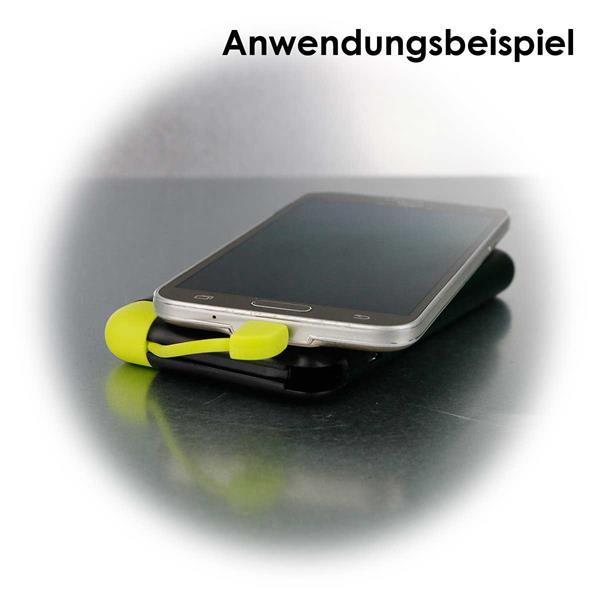 Praktische Slim-Powerbank im Smartphone-Format
