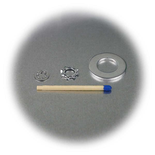 Unterlegscheiben-Set in praktischer Kunststoffbox in gängigen Größen