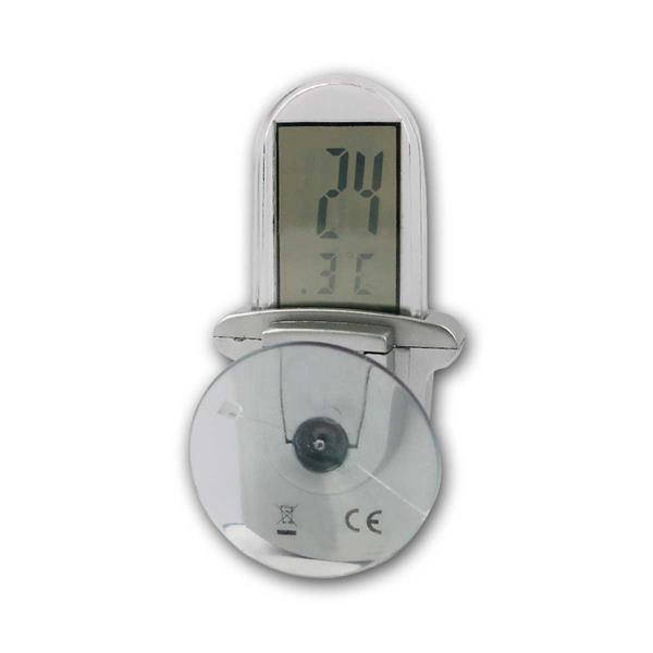 Digitales Thermometer für Außen mit Saugnapf