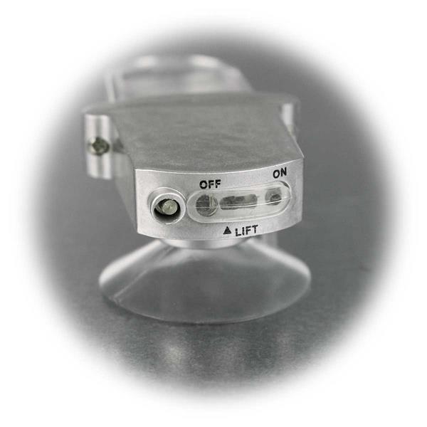 Schiebeschalter zur Inbetriebnahme des Außenthermometers