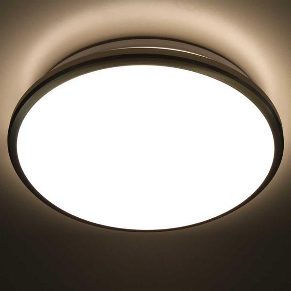 LED Wohnraumleuchte für Anschluss an 230V, inkl. Installationsmaterial