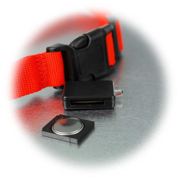 LED Leuchtband, Batteriebetrieb mittels Knopfzellen