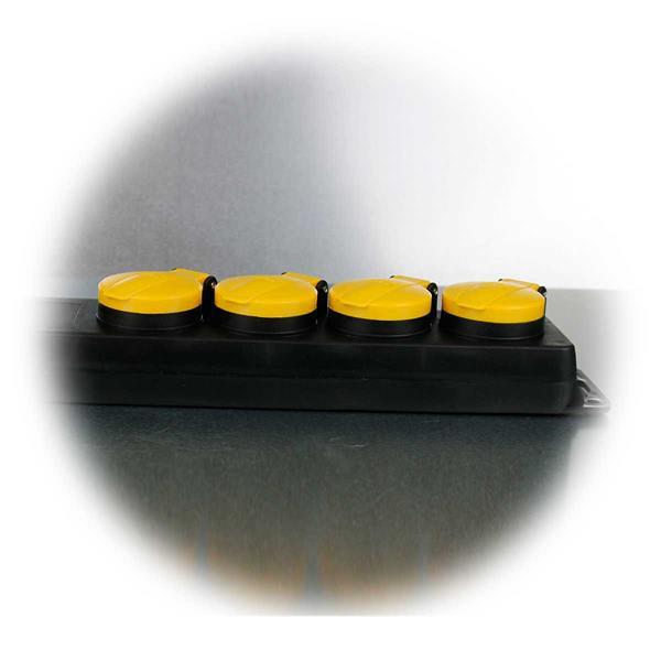 4-fach Steckdosenleiste für den Außeneinsatz