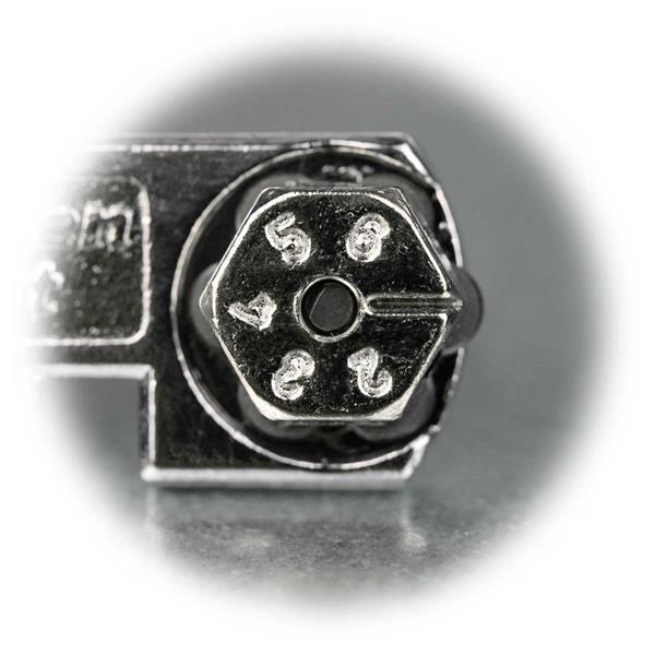 Glasschneider mit 6 Hartmetallschneidrädchen