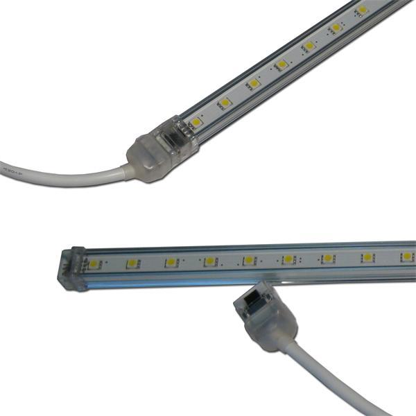 LED Leuchtleiste mit Aluminiumgehäuse mit Kunststoffummantelung