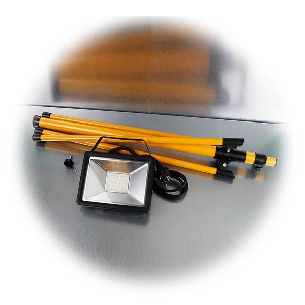 Lieferumfang des 30W-LED-Baustrahler